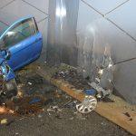 10-10-2017 - Tödlicher Verkehrsunfall am Portal des Umfahrungstunnel