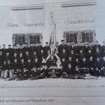 1931 - Mannschaftsbild der Feuerwehr Bruckhäusl
