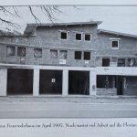 1996: Start Neubau des jetzigen Gerätehauses