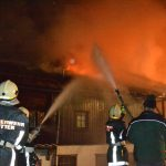 2011-03-10 - Großbrand eines WirtschaftsgebäudesGroßbrand eines Wirtschaftsgebäudes