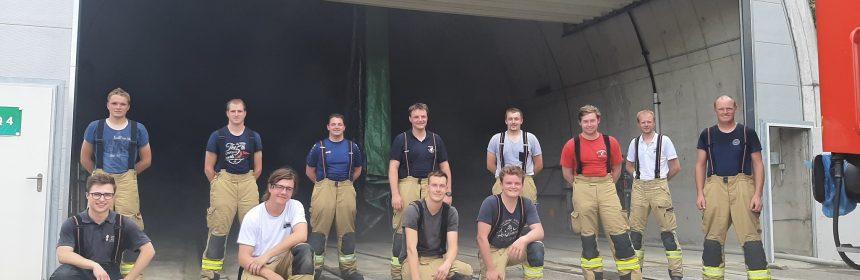 Ausbildung: Juni 2021 - Auch bei der Feuerwehr gehts in die Schule