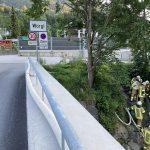 08.07.2021 - Schlauchleitung über die Bahnstrecke?