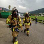 30.07.2021 - ÜBUNG: Gebäudebrand mit vermissten Personen