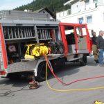 Der Rettungssatz wurde anfangs im LF-B verbaut.