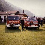 Das LF-B und ehem. MTF bei der Weihe 1990.